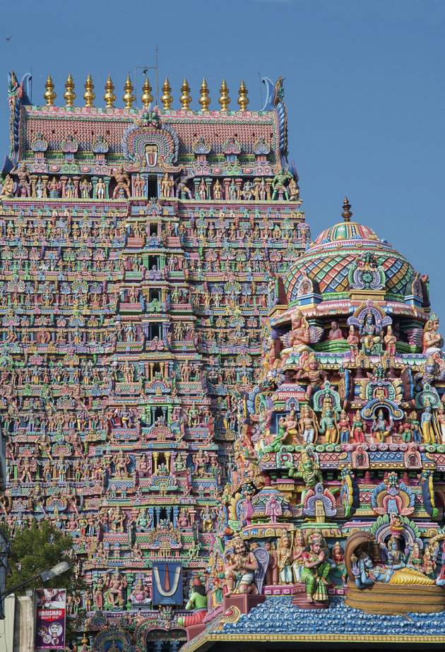 The main gopuram