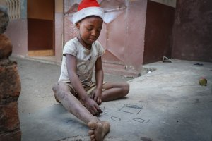 All I want for Christmas                in Ambositra