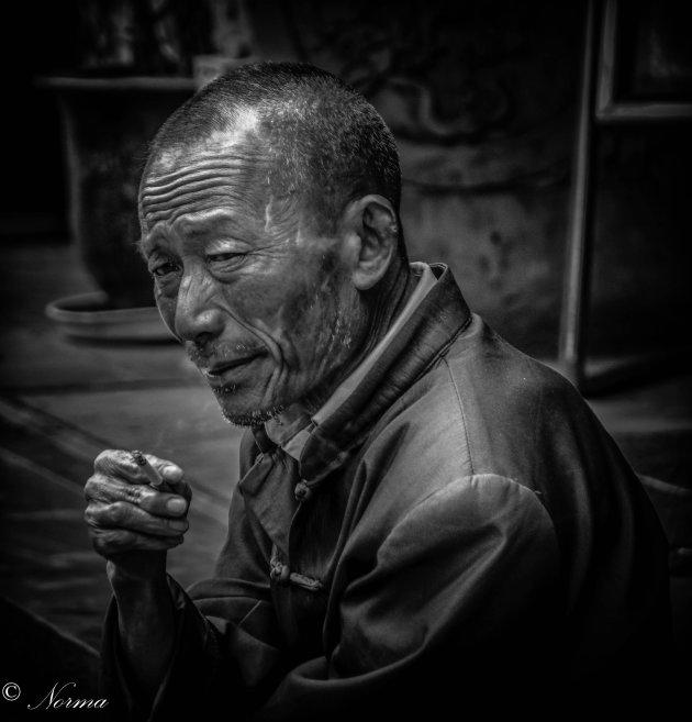Portret van een tempelganger