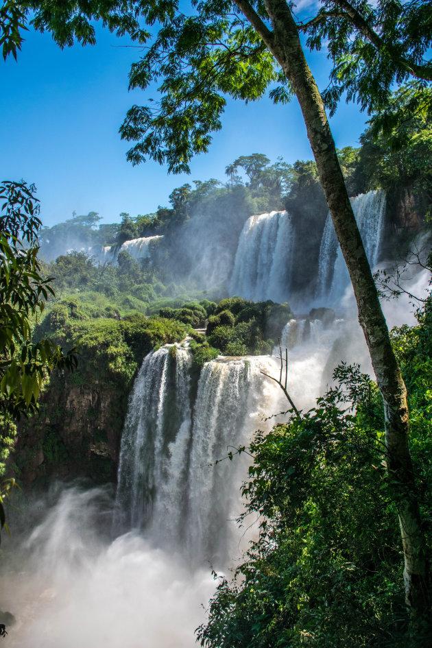 De prachtige Iguazu watervallen