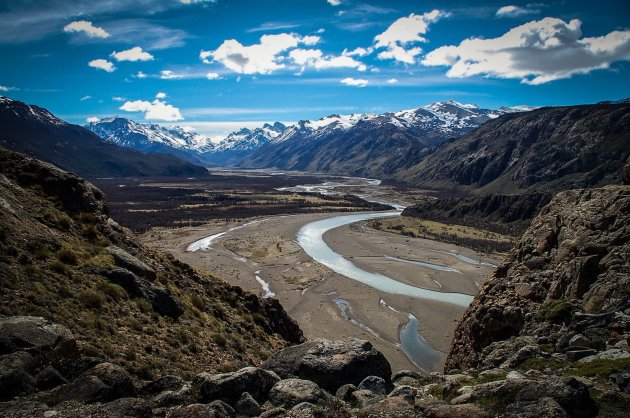 River valley, nabij El Chaltén