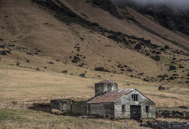 Verlaten boerderijen
