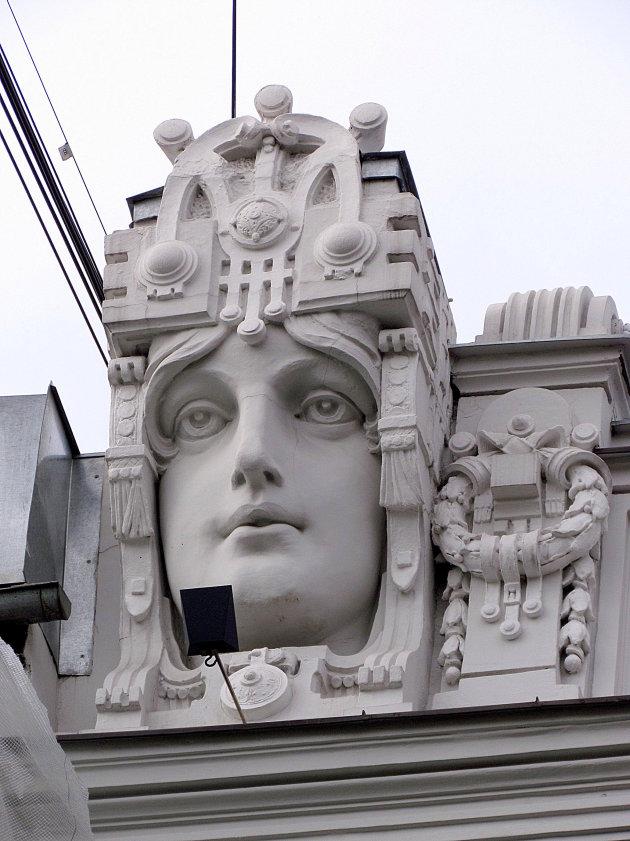 Art-Nouveau detail