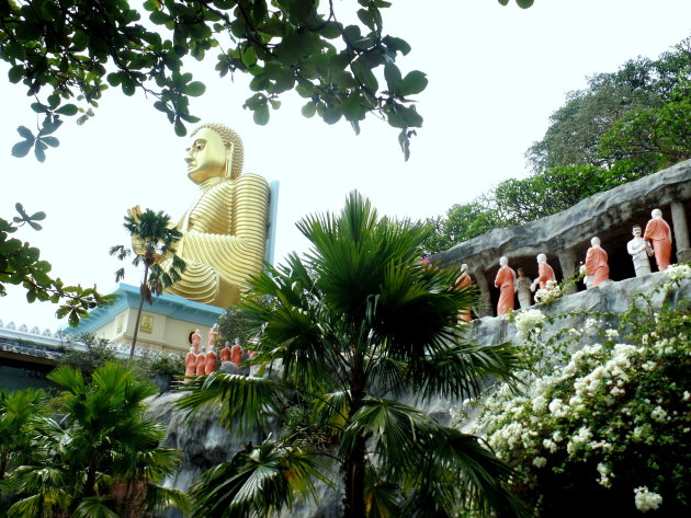 Gouden Buddha van Dambulla