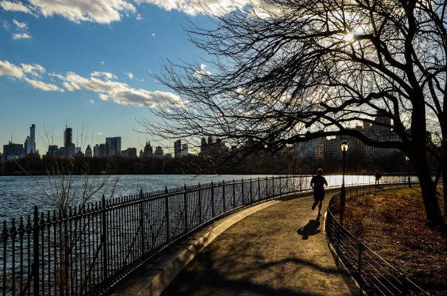 Wakker worden in Manhattan