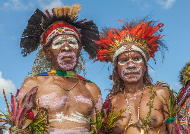 In Goroka wil iedereen op de foto