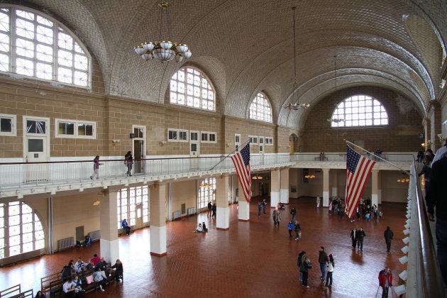 Ellis Island de aankomsthal