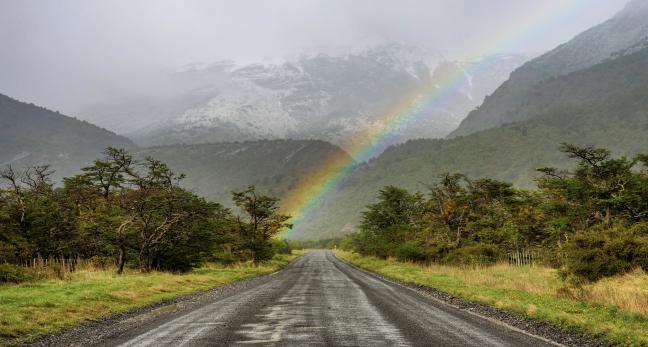 Over the rainbow..