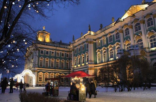 Winters Sint Petersburg