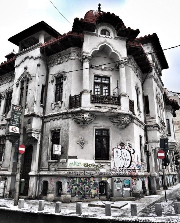 In the streets of Bucharest