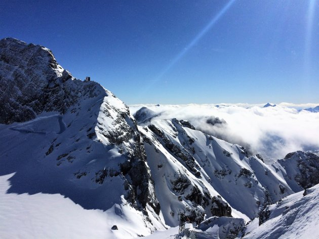 Op de Dachstein gletsjer