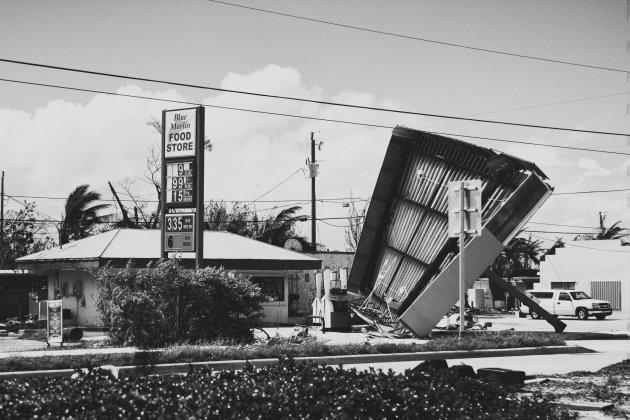 Een paar dagen na orkaan Irma