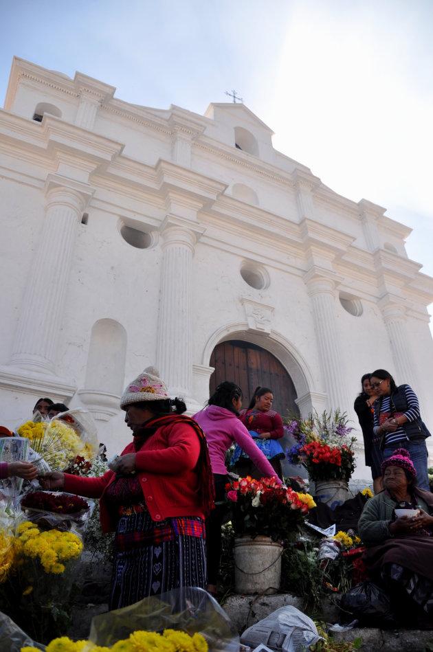 Bloemenmarkt @Chichicastenango