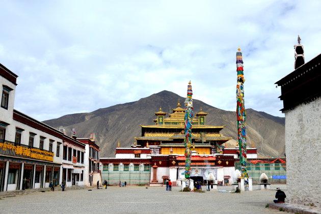 Samay klooster in Tsedang.