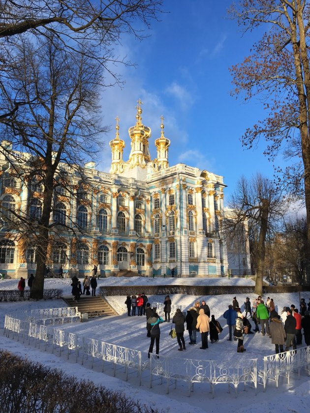 Glitter en glamour in St. Petersburg
