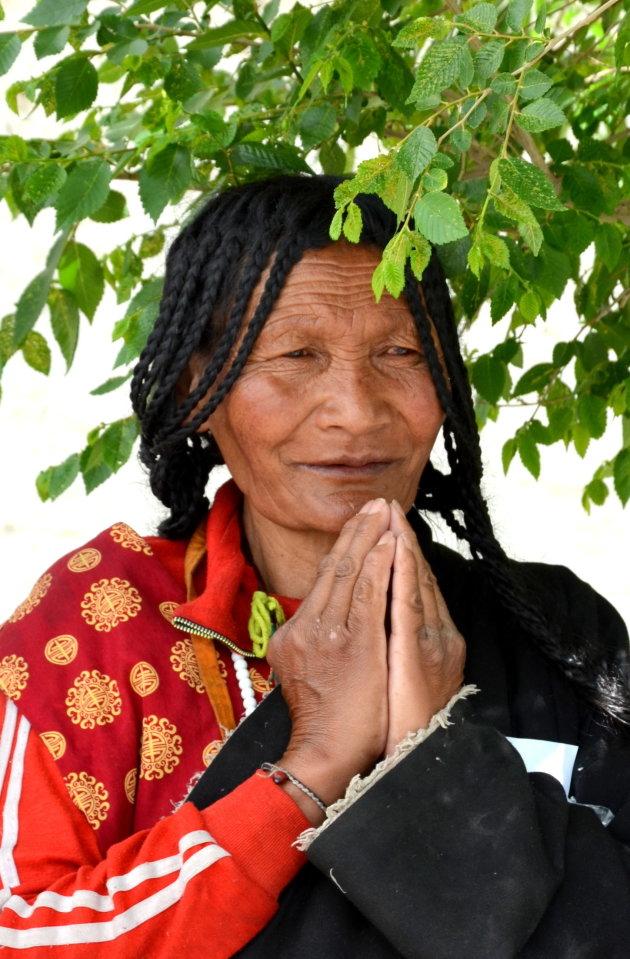 Khampa vrouw.