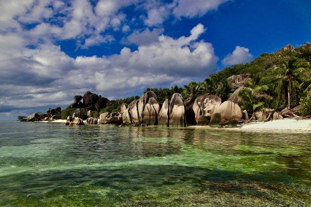 Het bekendste strand van de Seychellen
