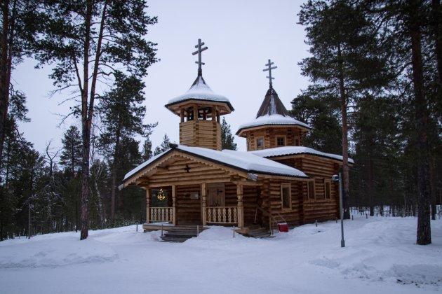 Orthodoxe kerk in Nellim