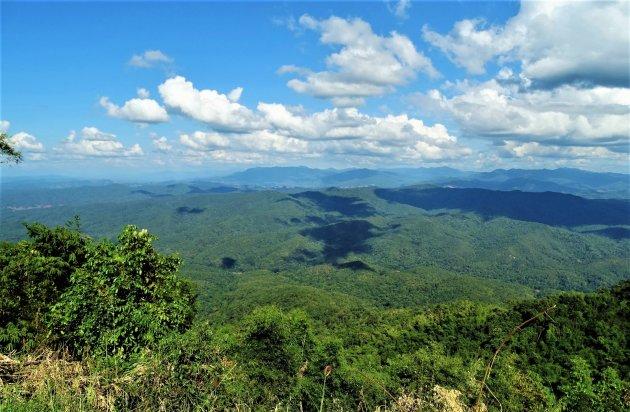 Berggebied noord Thailand.