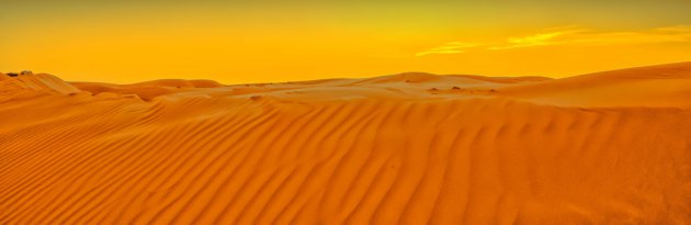 Zon en zand zonder strand