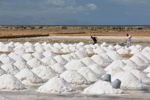 De zoutwinning bij Trapani