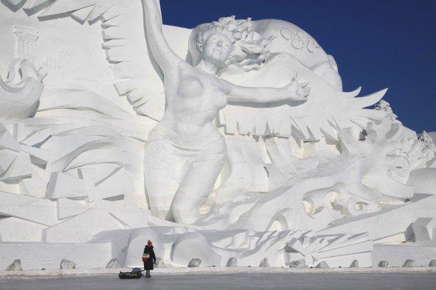 Olympische sneeuw