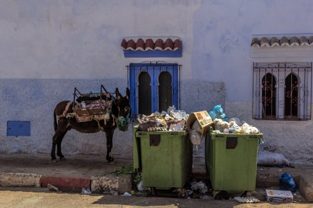 Het is niet allemaal mooi en schoon in Chefchaouen