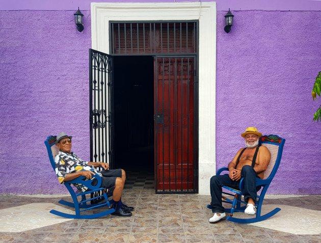 (kerst)mannen in Granada