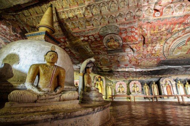 De Grottempels in Dambulla: Uniek!
