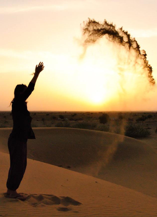 Slapen in de woestijn van Jaisalmer