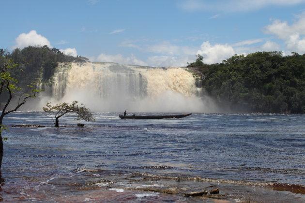 Salto Hacha in Canaima national park