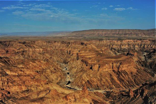 een blik over de Canyon
