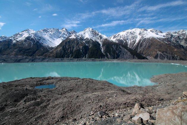 Blue Lakes and Tasman Glacier View Walk
