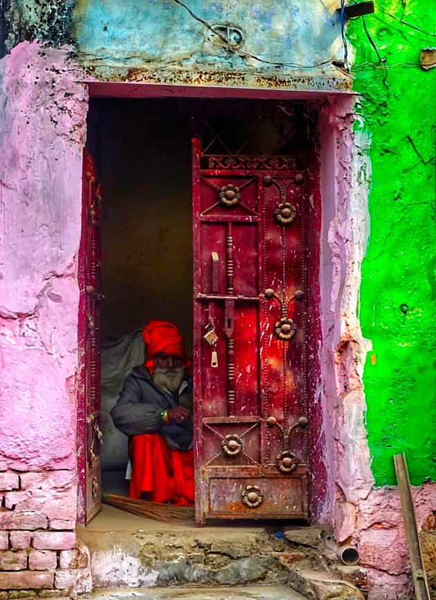 kleurrijk Delhi