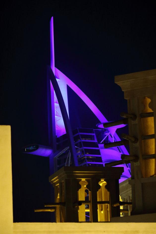Madinat Jumeirah kleurrijk doorkijkje