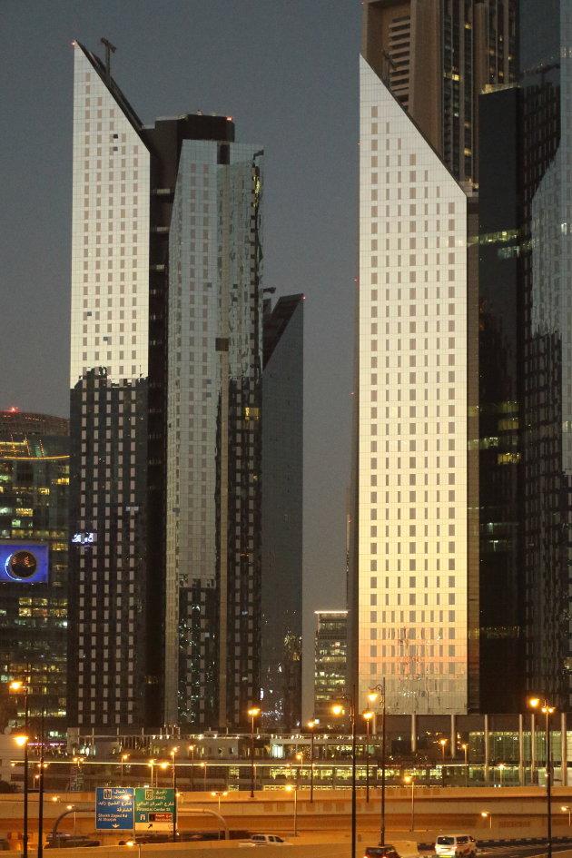 Gouden uurtje in Dubai