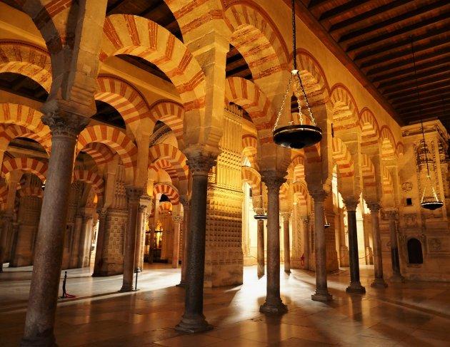 Als je vroeg bent en heel snel, heb je de Mezquita even voor jou alleen