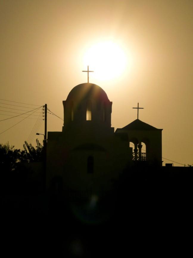 Kerk voor de zon
