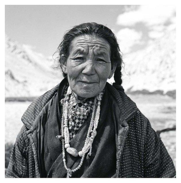 Nomade uit Ladakh
