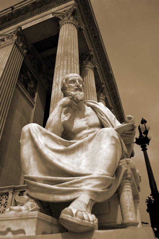 Parlement standbeeld reumann