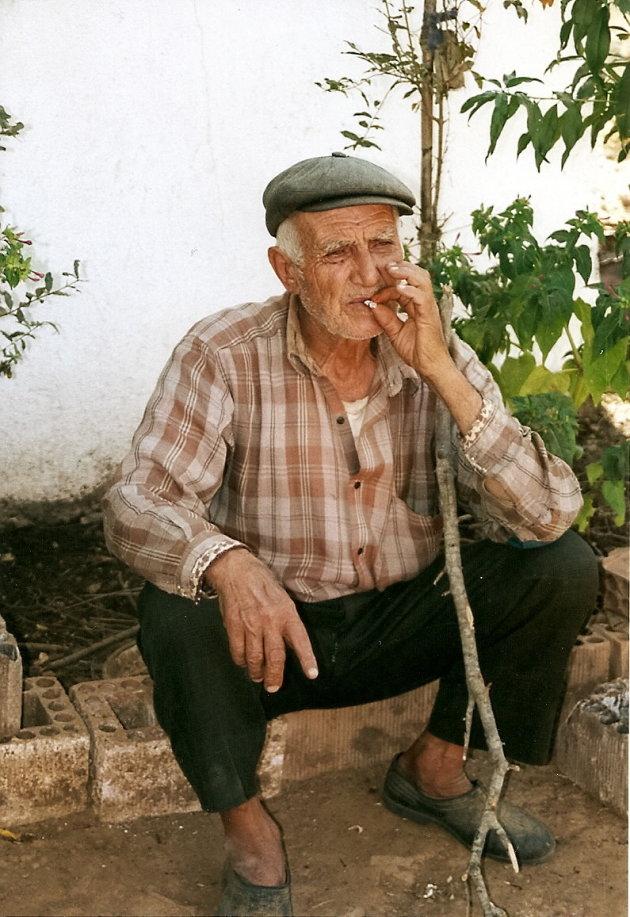 in een klein dorpje