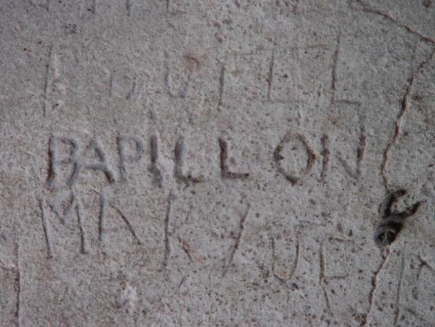 2002: Camp de la Transportation: Papillon.