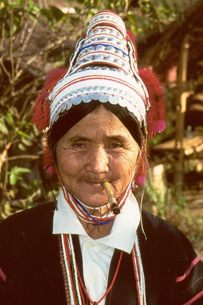 Akha vrouw
