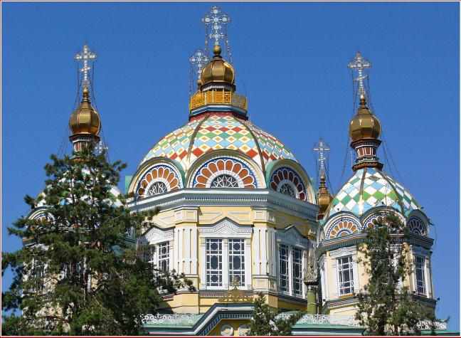 Senkov kathedraal in Almaty