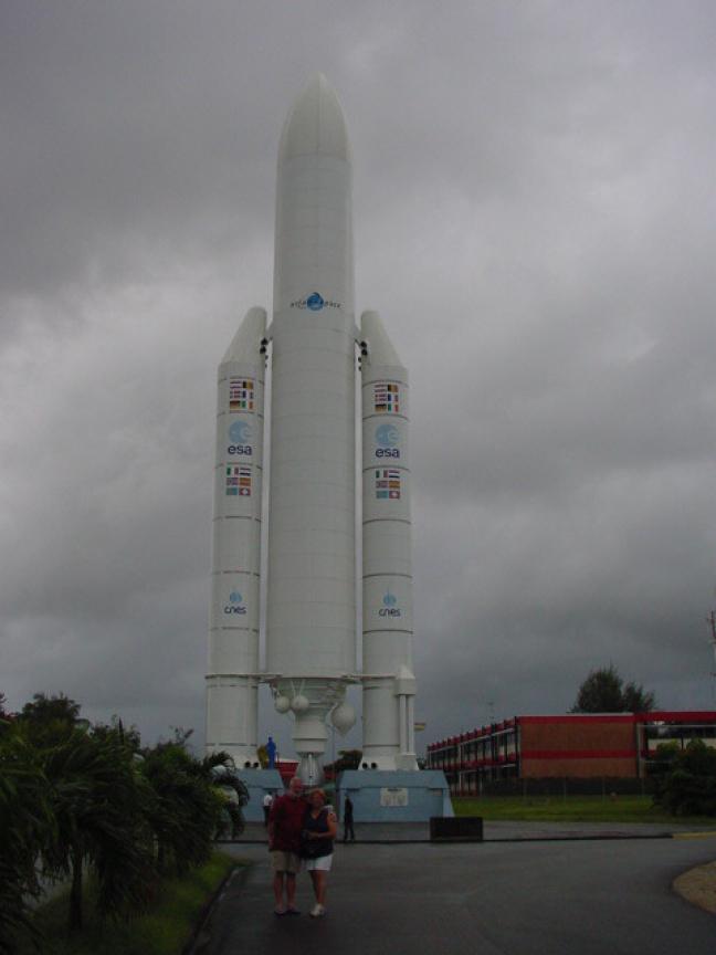 2002: Kourou: Musee de l'espace.