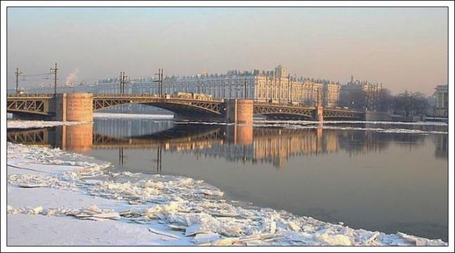 IJs op de Neva