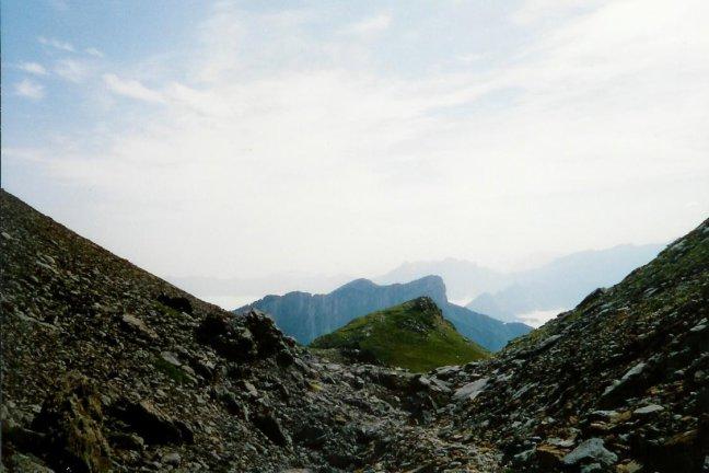 1993 Pyreneeen: mooi doorkijkje.