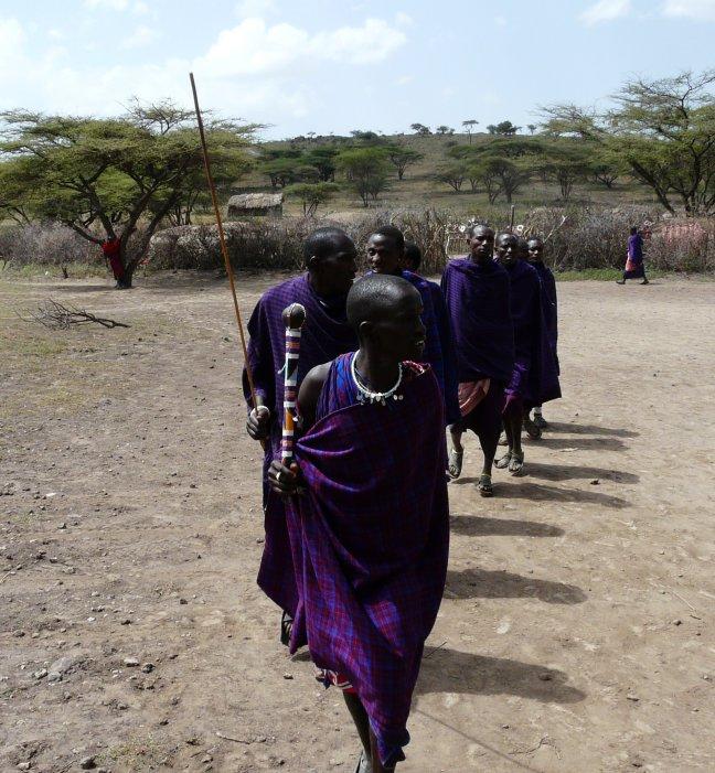 welkoms dans/zang masai