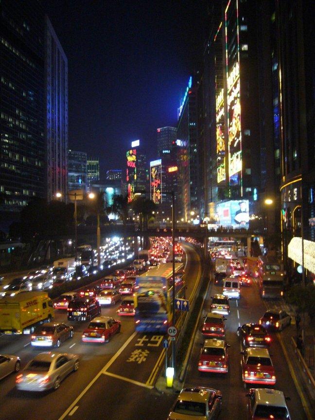 Verkeer in Hong Kong