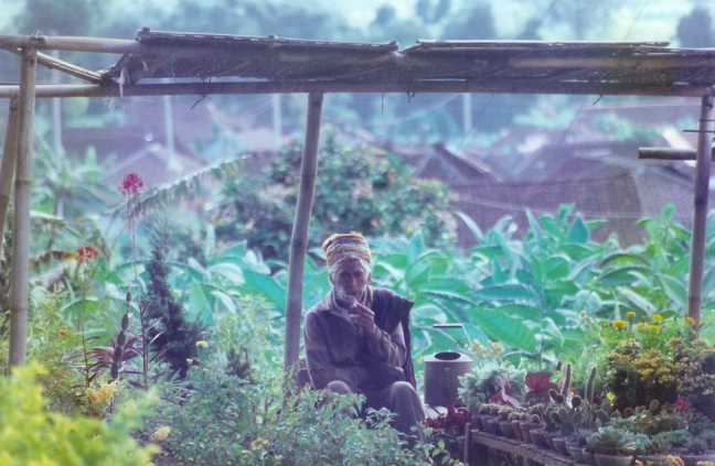 1997: Java: Kopeng: even een sigaretje.